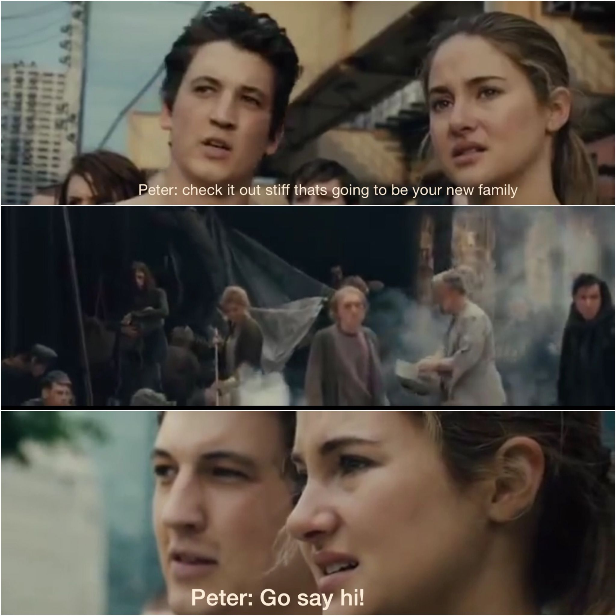 HaHa! Miles Teller as Peter from Divergent | Divergent ...