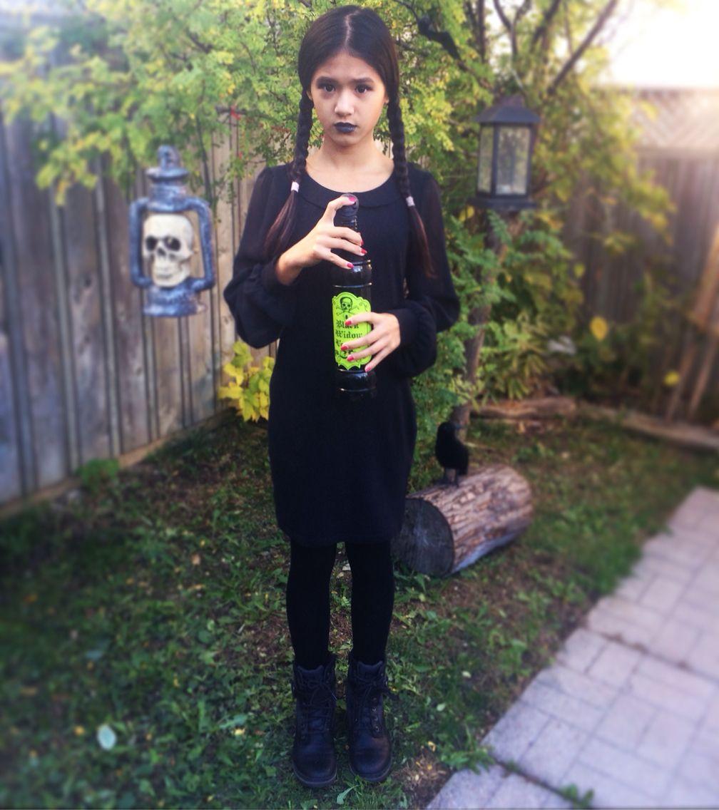DIY Wednesday Addams costume Wednesday addams costume