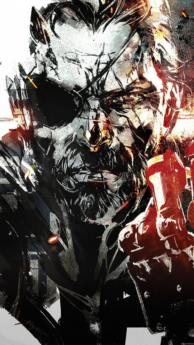 Pin By Christopher Lilly On Big Boss Metal Gear V Metal