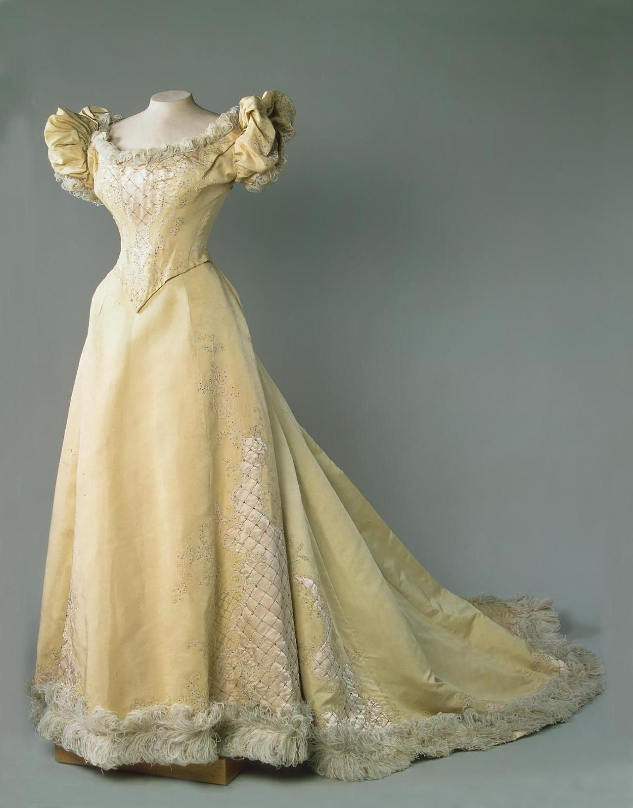 Evening dress us from the state hermitage museumfripperies and