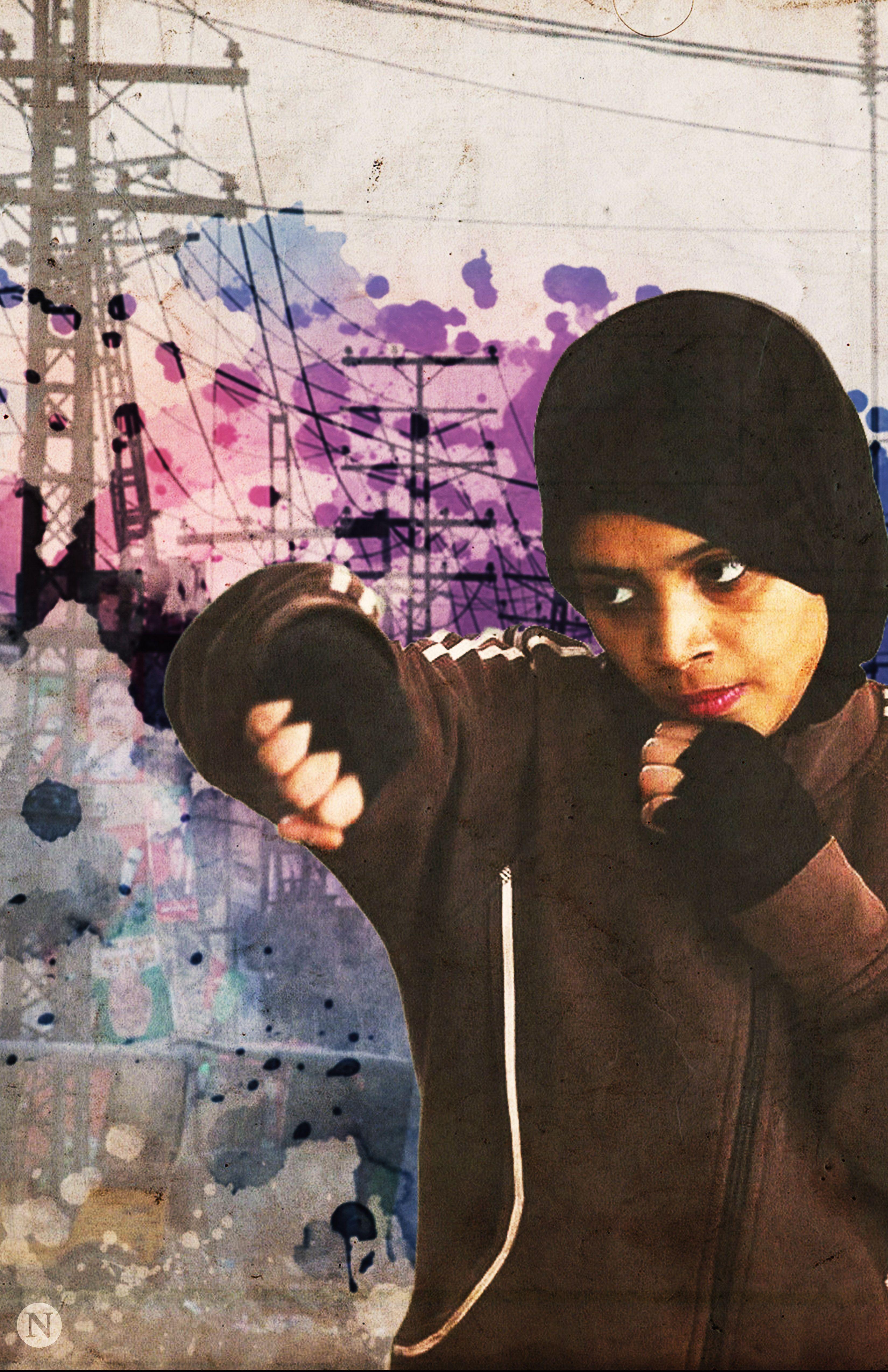First all-girls Pakistani boxing club