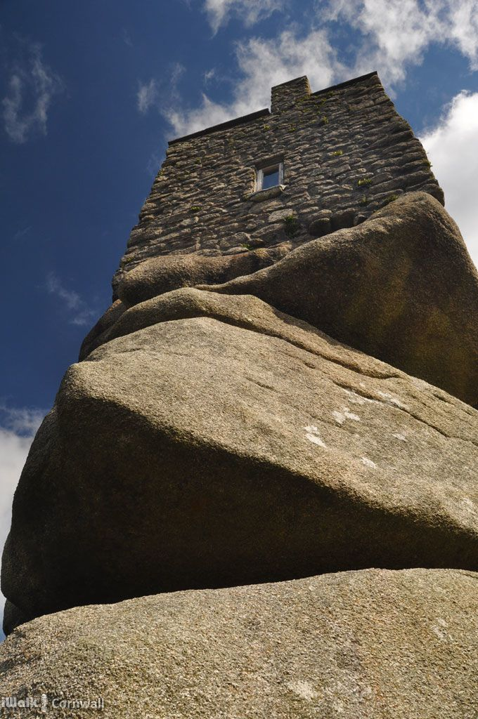 Carn Brea Castle, Cornwall... perspective