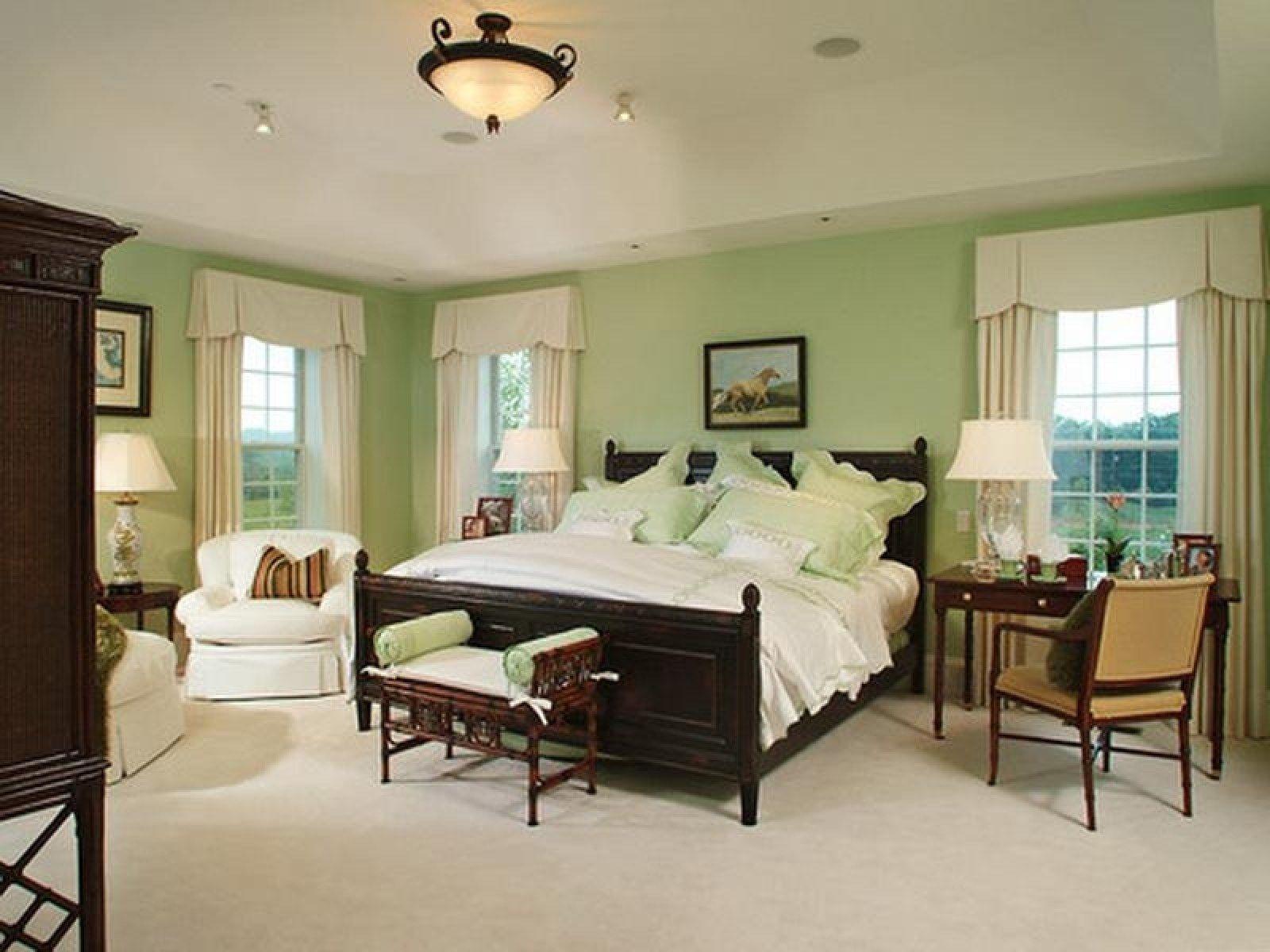 Grün Schlafzimmer Wände Mint green bedroom, Green