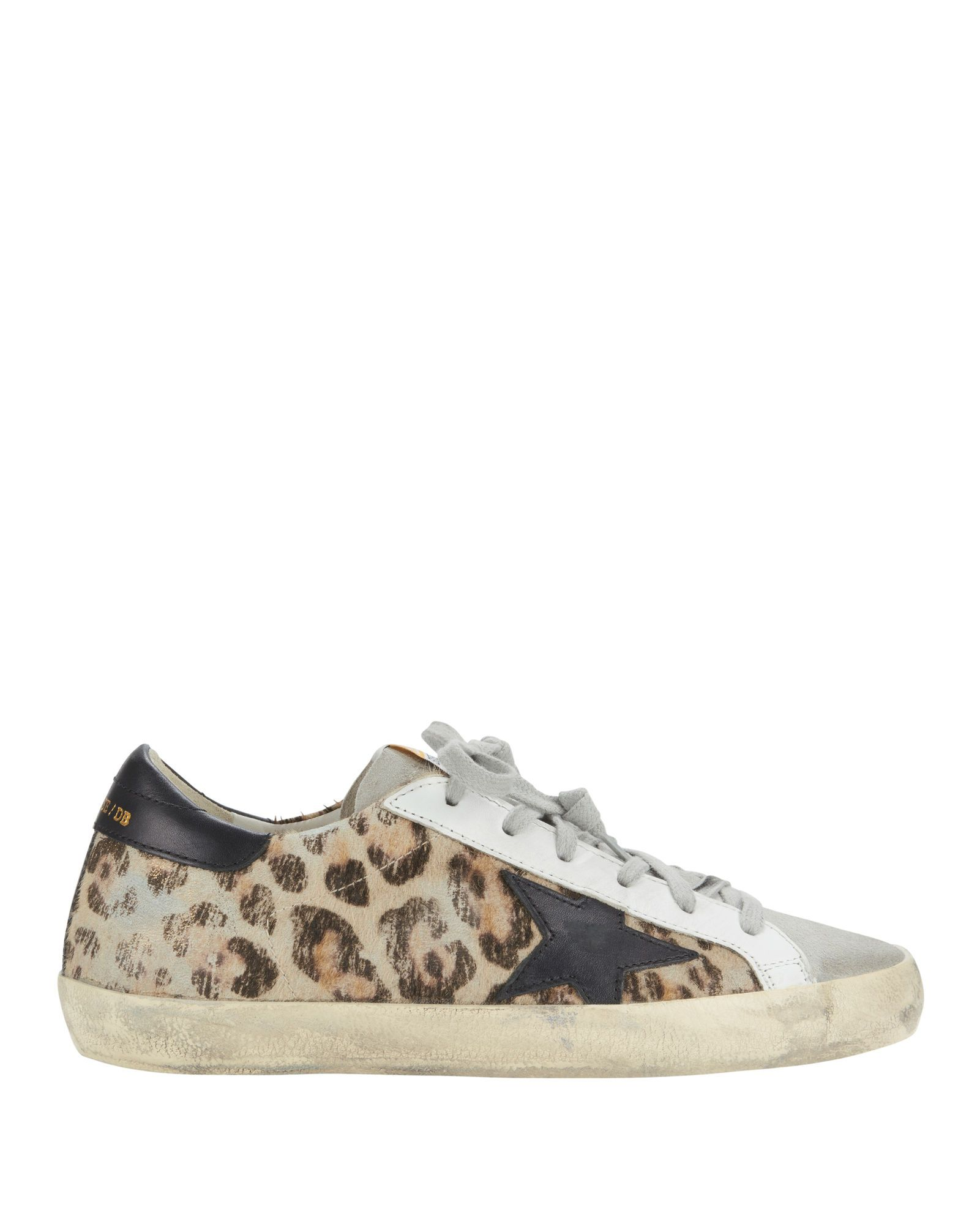 a1c5dc6768a00 GOLDEN GOOSE Superstar Snow Leopard Low-Top Sneakers.  goldengoose  shoes
