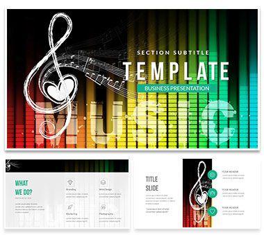 Romantic Song Lyrics Powerpoint Template Powerpoint Templates