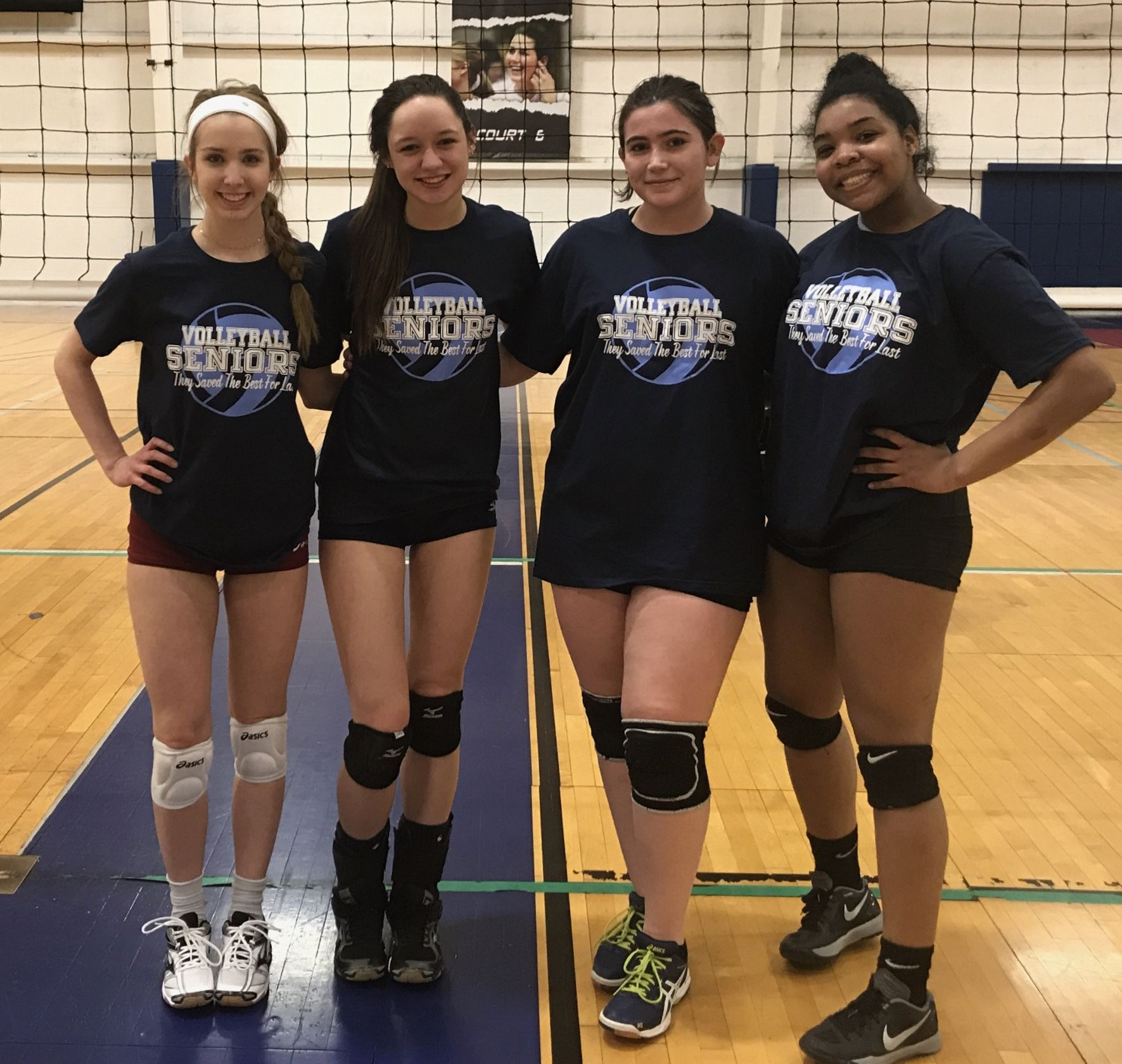 Seniors Alumni 2018 Seniors For K Elites Vbc Volleyball Clubs Tee Shirts Elite