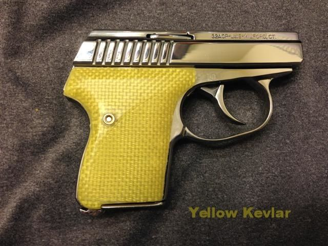 The L W  Seecamp Company Forum - Yellow Grips | Too Dang Snazzy but