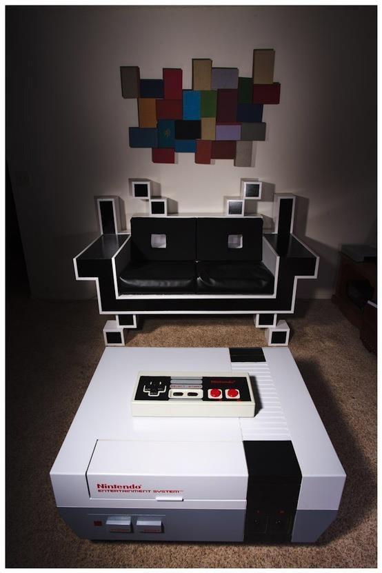 Retro Gaming Furniture
