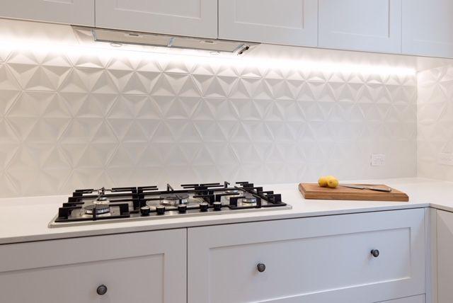 make a statement with 3d tiles kitchen interior design modern kitchen tiles backsplash on kitchen interior tiles id=65427