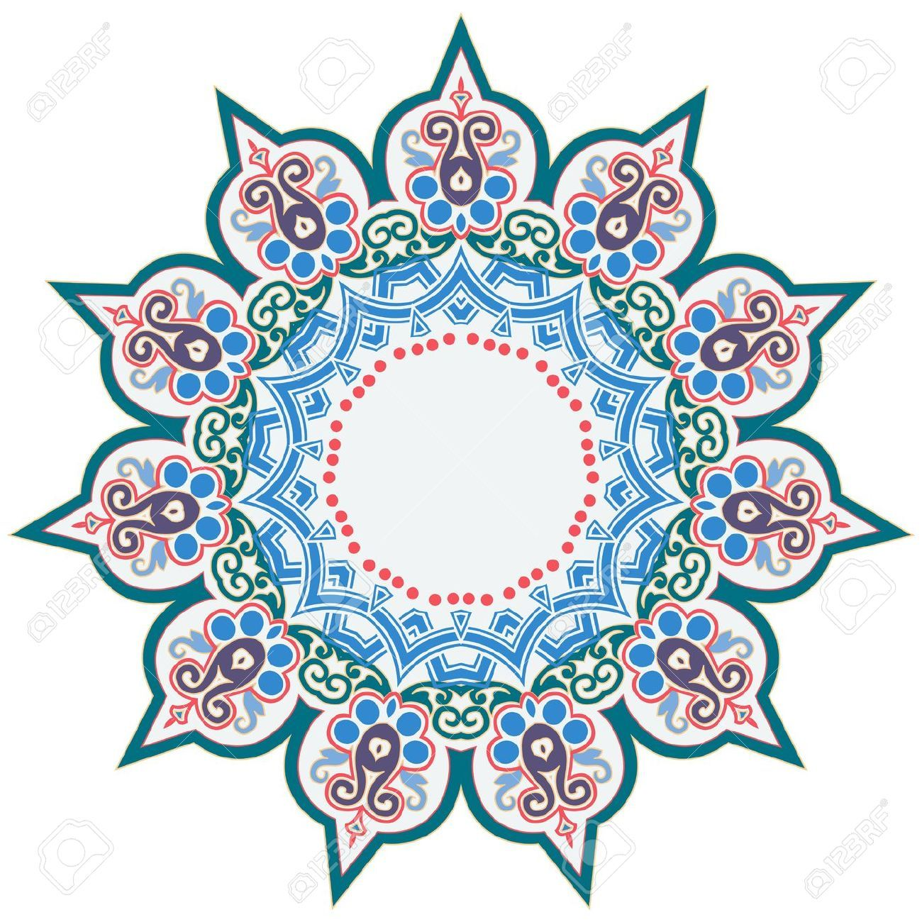 Vector Of Traditional Persian Arabic Turkish Islamic Pattern Royalty Free  Cliparts, Vectors, And Stock Illustration. Image 21542992.