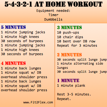At Home Full Body Workout Via Carissa Bealert