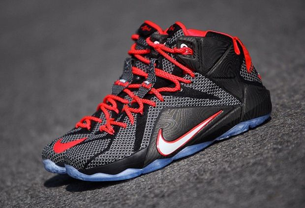 Shop Cheap Nike Lebron 12 Wolf Grey Volt Black