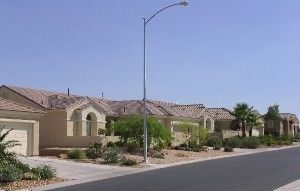 A Typical Street In Sun City Anthem A Upscale Retirement Community Sun City Retirement Community Street Scenes