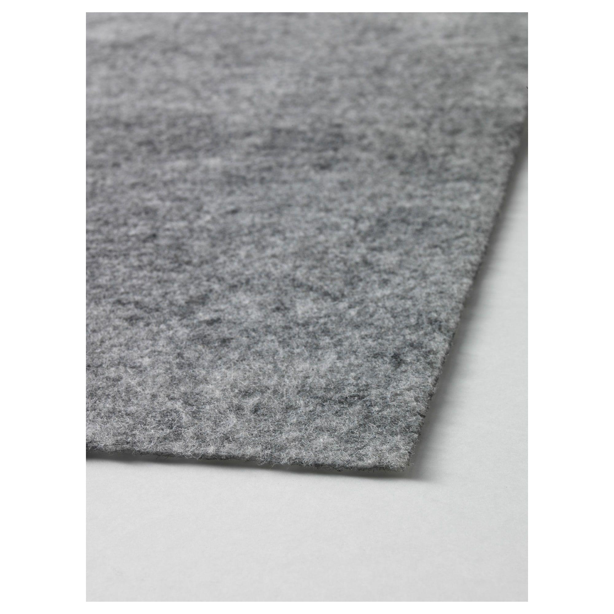 Baring Rug Underlay With Anti Slip Ikea Rugs Ikea Diy Carpet