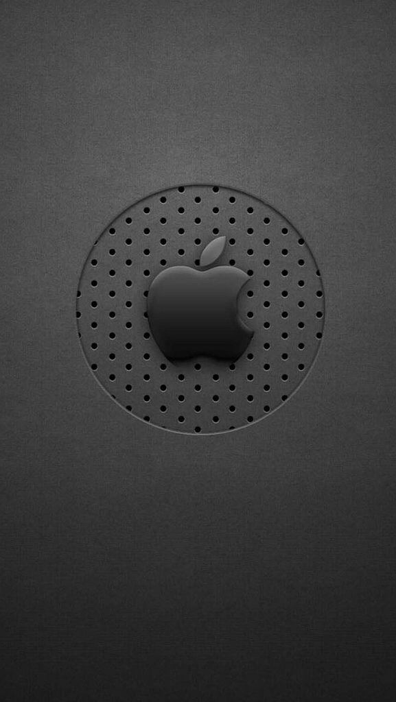 Black-Dots-Apple-Logo-iphone-5-wallpaper-ilikewallpaper_com