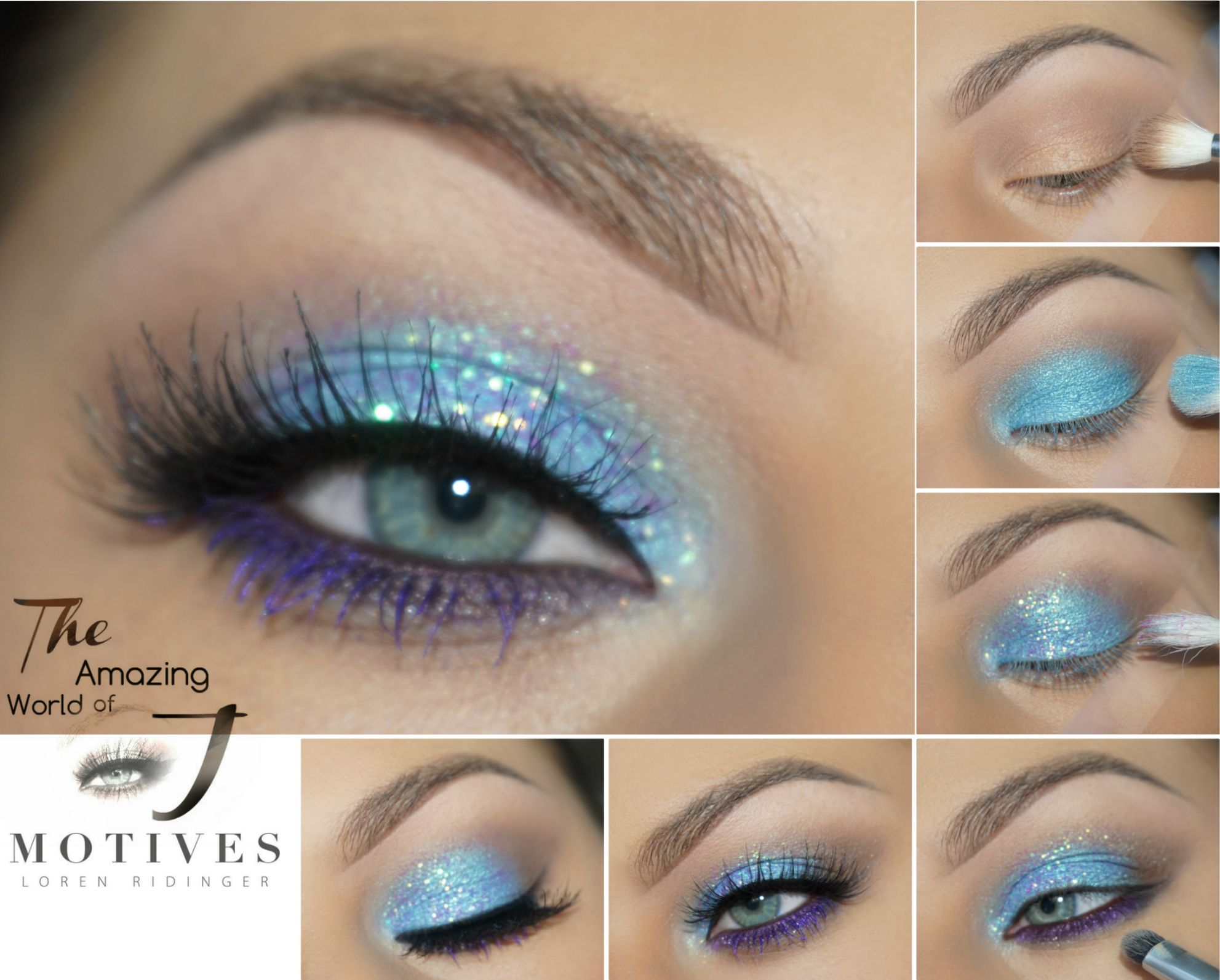 """Photo of Get the Look with Motives®: """"Waves"""" Makeup Tutorial – Loren's World"""
