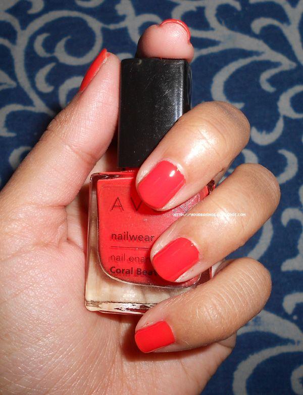 Avon Nailwear Pro Nail Enamel in Coral Beat | Nail Polish ...