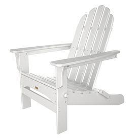Peachy Trex Outdoor Furniture Cape Cod Classic White Plastic Machost Co Dining Chair Design Ideas Machostcouk
