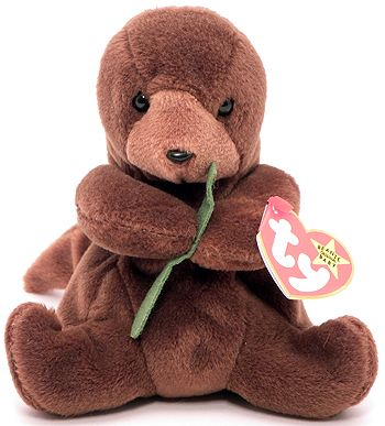 Beanie Baby (Seaweed the Sea Otter) One of my favorites! I have one sitting on my dresser right now :)