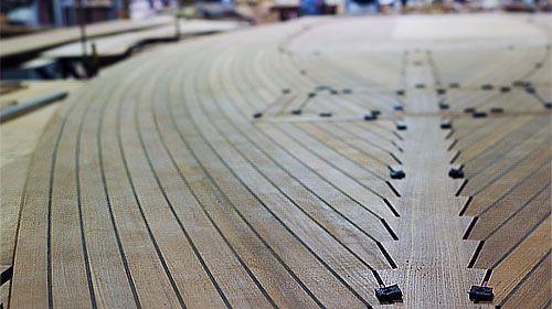 Maritime Custom Teak Decks Teak Deck Panels Teak Decking