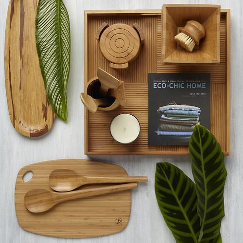 Eco Friendly House, Bamboo, Crafty