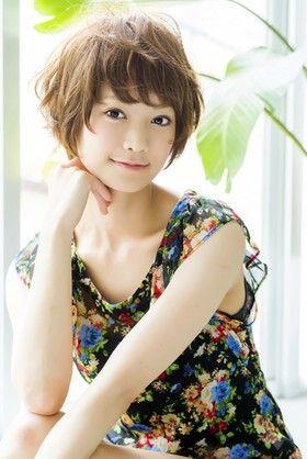 可愛い髪型 ショートの可愛い髪型 : jp.pinterest.com