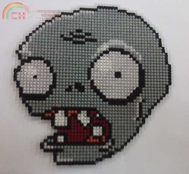 Plants vs zombies cross stitch patterns google keresés