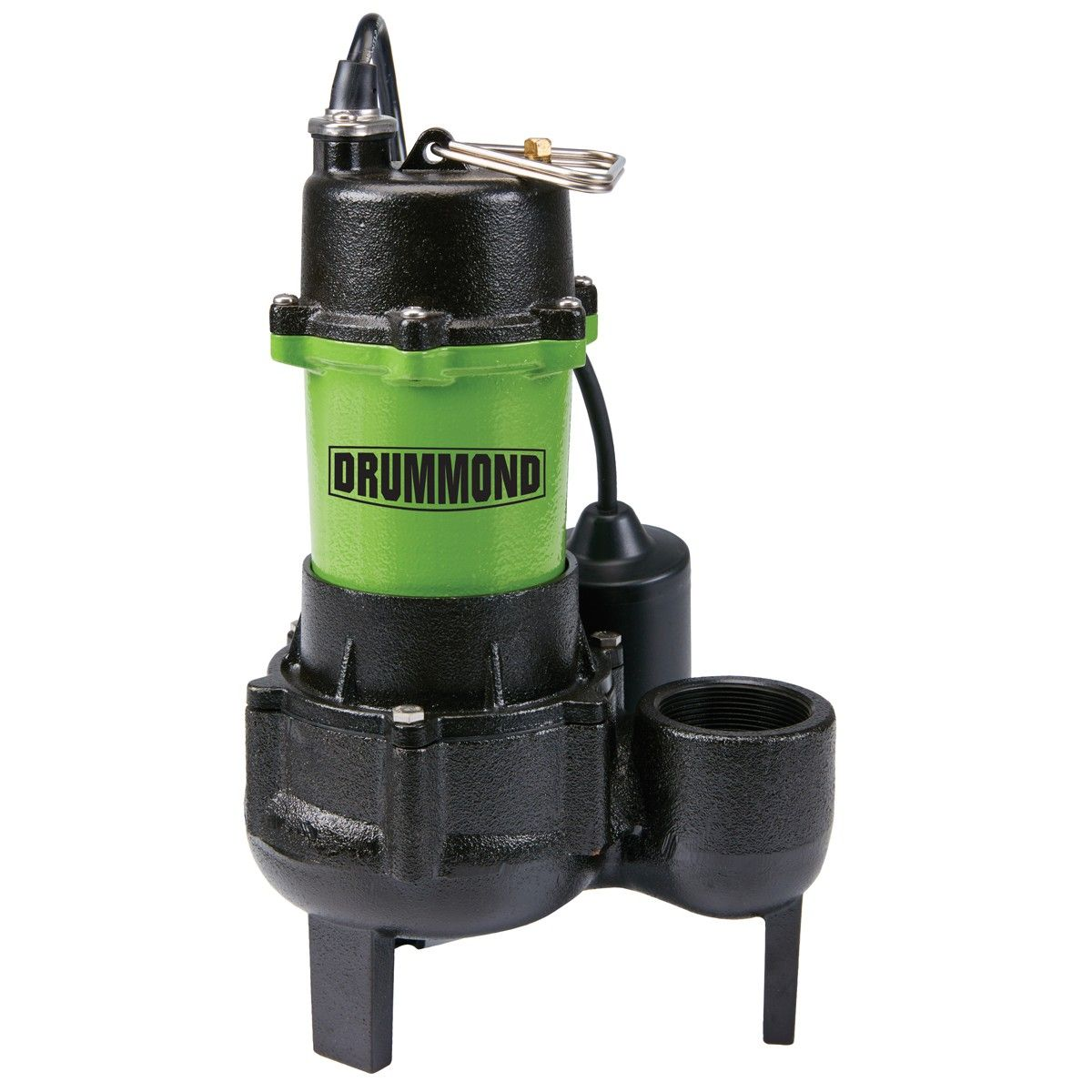 1/2 HP Submersible Sewage Pump with Tether Switch Sewage