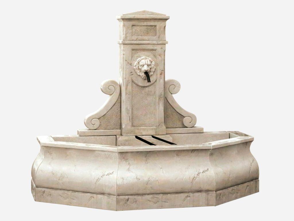 Fontaine centrale de jardin Fontainebleau de Roc de France ...