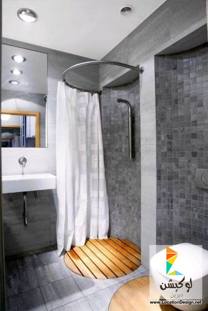 ديكورات حمامات صغيرة جدا 2015 لوكيشن ديزاين تصميمات ديكورات أفكار جديدة مصر L Bathroom Shower Design Small Bathroom Inspiration Tiny House Bathroom