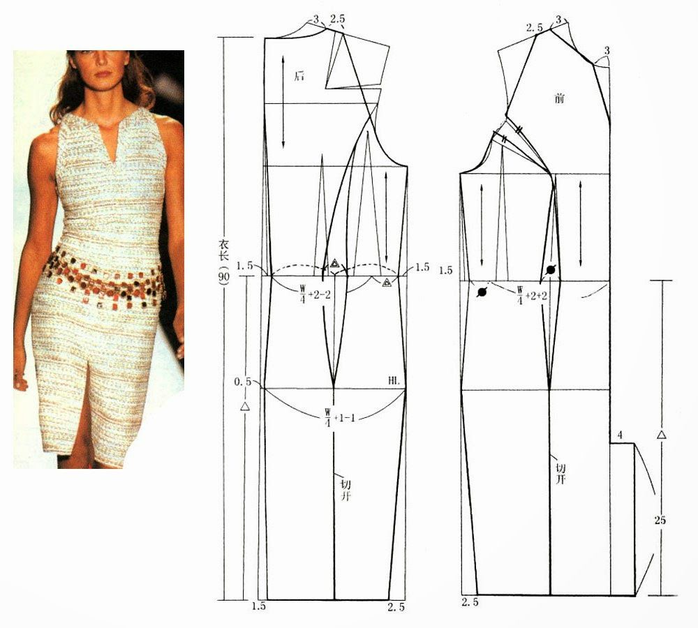 Molde vestido costuras pinterest google sewing class and dresses chinese method of pattern making svet lana lbumes web de picasa jeuxipadfo Image collections