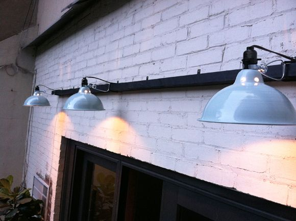 Made Out Of Cheap Clip Lights.Little Green Notebook: Our Quick And Easy Outdoor  Lighting