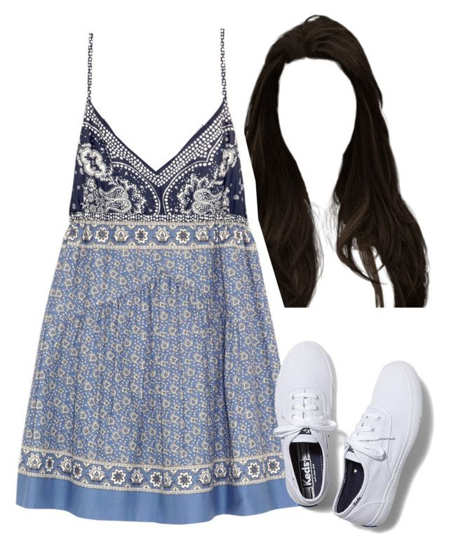 """""""(117)"""" by maria-bss ❤ liked on Polyvore featuring Chloé and Keds"""