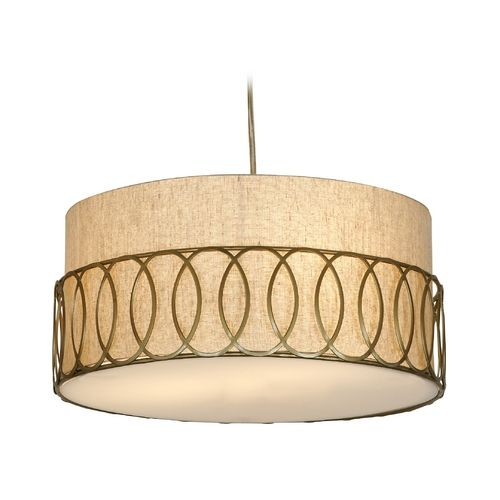 Trend Lighting Modern Drum Pendant Light With Cage Shade In Matte Gold Finish Tp6413 Modern Drum Pendant Light Pendant Lighting Pendant Light Fixtures