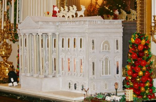 White House Gingerbread House #Christmas