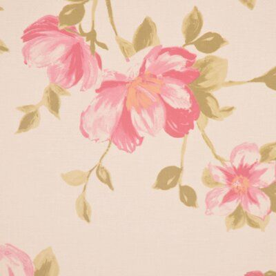Rm Coco Allure Floral Foliage Fabric Rm Coco Floral Flower Drawing