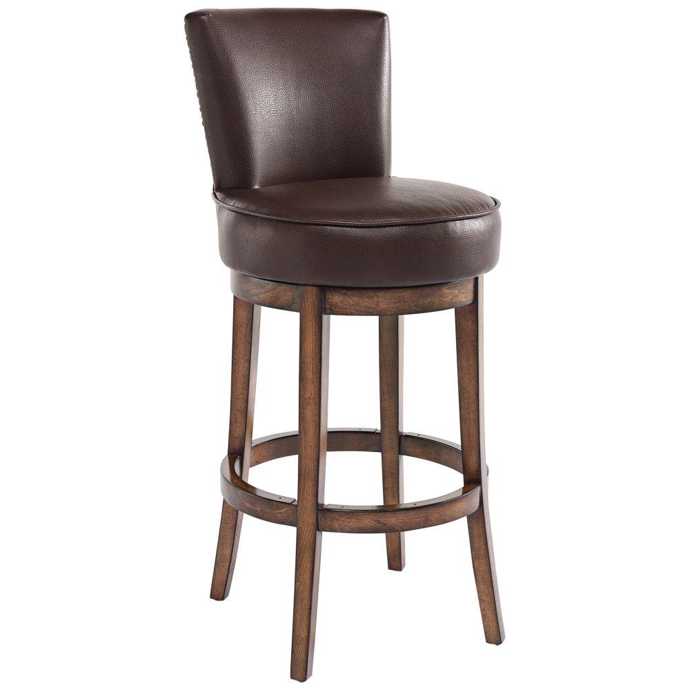 Boston 30 Kahlua Faux Leather Swivel Barstool Style 39c93 Swivel Bar Stools Swivel Counter Stools Bar Stools