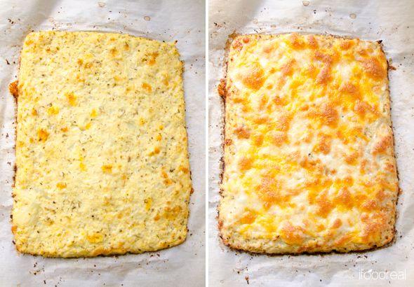 Baked Lining Double Cauliflower Breadsticks Recipe Cauliflower