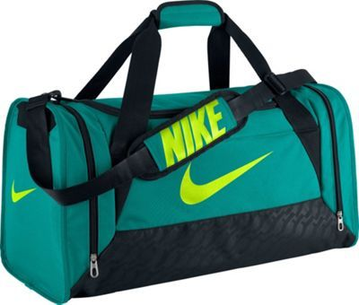 5928e2f421 Nike Brasilia 6 Medium Duffel TURBO GREEN BLACK VOLT - via eBags.com ...