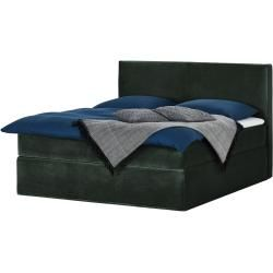 Photo of Box spring bed Boxi ¦ green ¦ Dimensions (cm): W: 180 H: 125 beds> Box spring beds> Box spring beds 180x