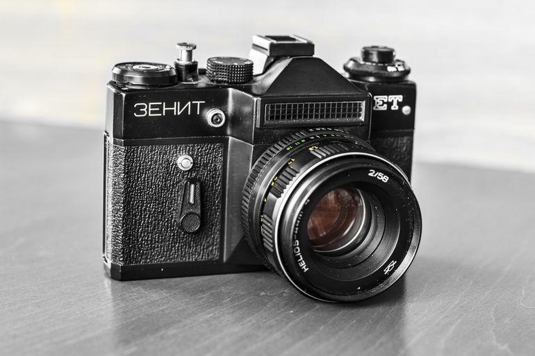 Old Camera Zenit Et Helios 44m 4 2 58 By Pawel Chrzaszczewski On