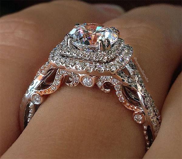 Verragio Engagement Rings 0 55ctw Diamond Setting Verragio Engagement Verragio Engagement Rings Buying An Engagement Ring