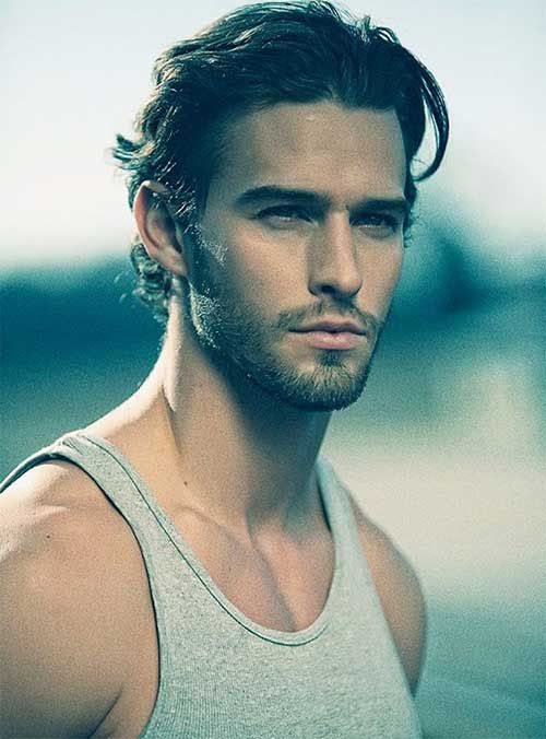Men Hairstyles Medium Interesting Mens Hairstyles For Thick Wavy Medium Haircuts  Men's Medium Hair