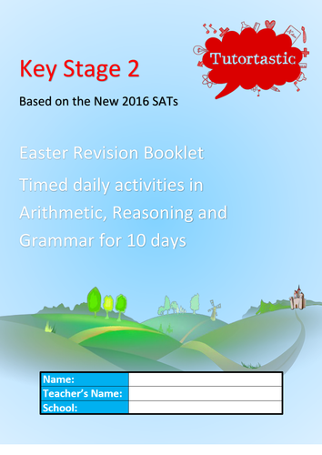 KS2 SATS 2016 Easter Revision Booklet   CPEA revision   Pinterest