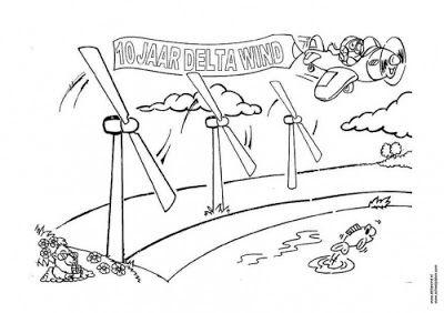 Recursos Para Educacion Infantil Dibujos De Energias Energia Eolica Eolica Energia