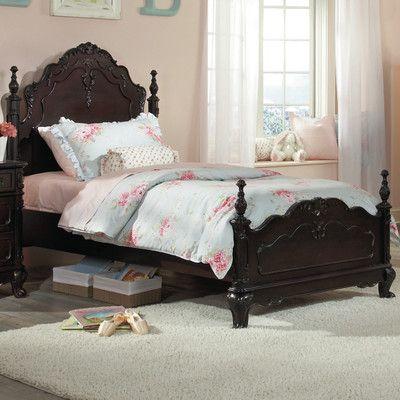 Woodhaven Hill Cinderella Panel Bed U0026 Reviews   Wayfair