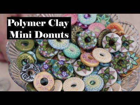 Creating Mini Doughnut Beads with Polymer Clay