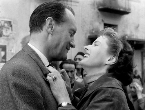 Viaggio in Italia (Journey to Italy) | Roberto Rossellini | 1954  George Sanders, Ingrid Bergman