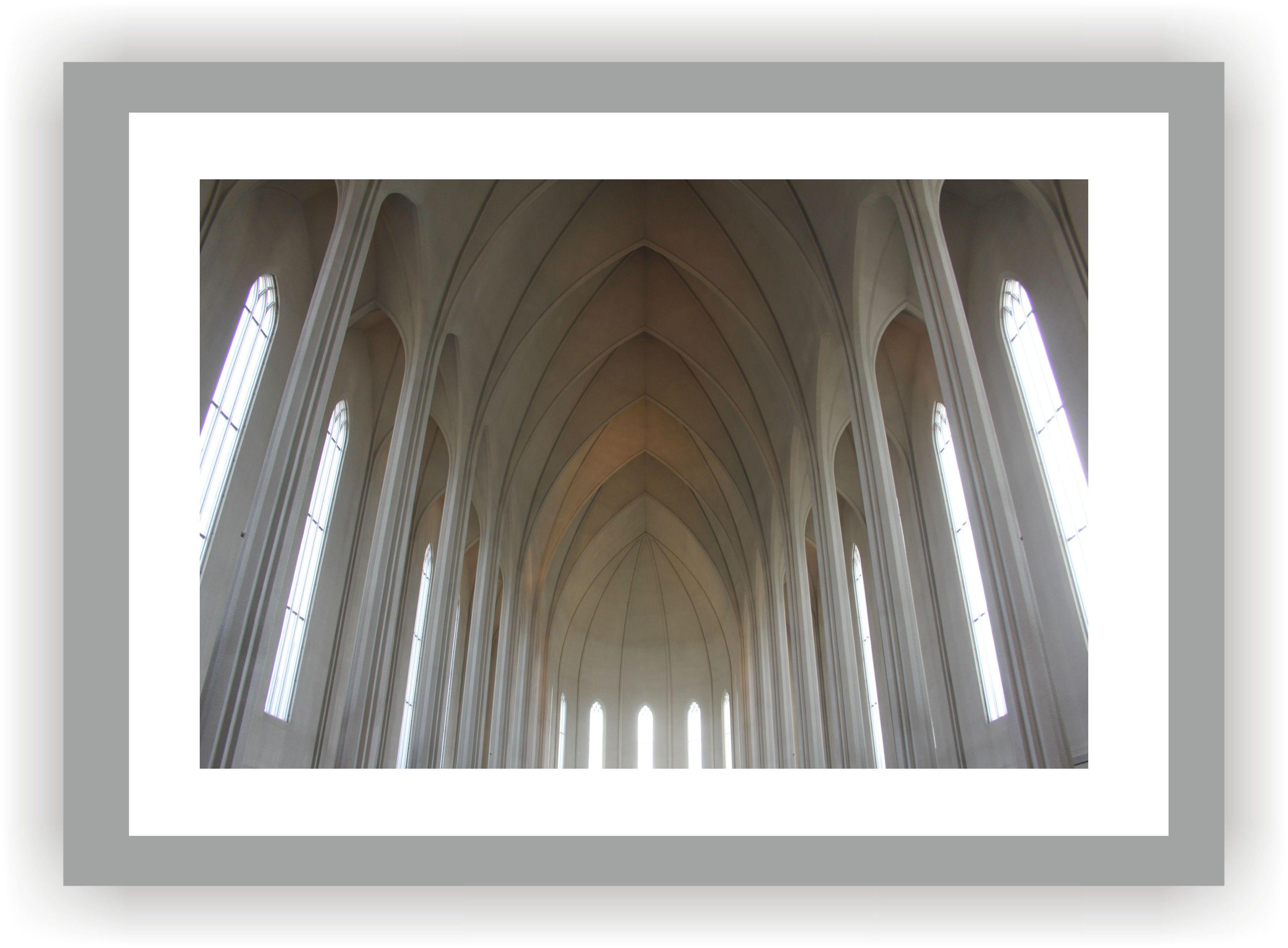 ISLAND - REYKJAVIK Hallgrímskirkja auf dem Skólavörðuholt    Hallgrímstorg 101