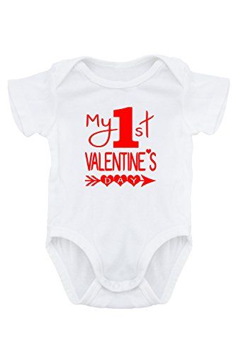 264a947fa Aidens Corner Baby Valentine Onesies 6 Months My First Valentines Day *  Read more reviews of the product by visiting the link on the image.